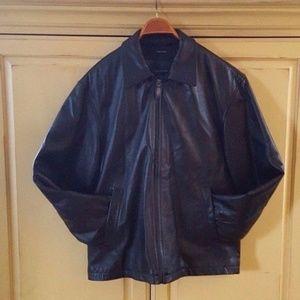 Liz Claiborne Bomber Jacket  Leather